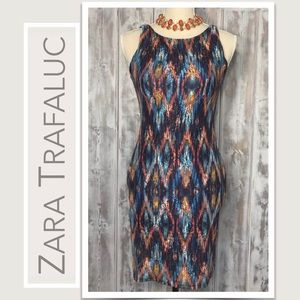 Zara Trafaluc Vibrant Sleeveless Dress
